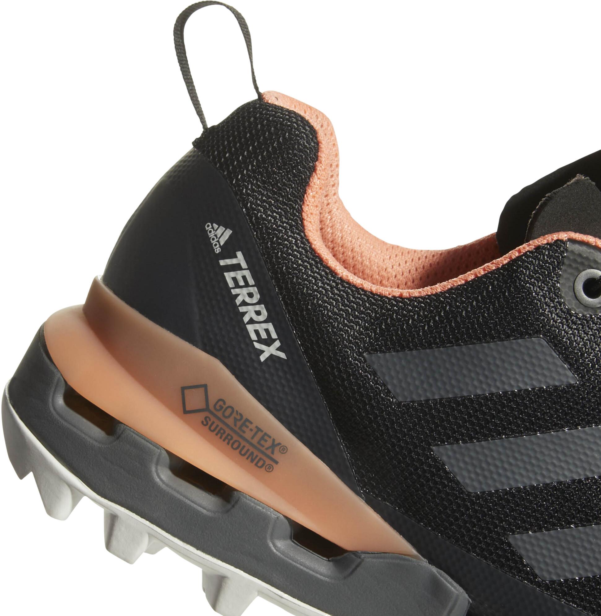 super popular cc7d8 60112 adidas TERREX Fast GTX-Surround - Zapatillas running Mujer - gris negro